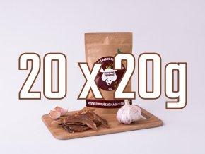 20X20g cesnek