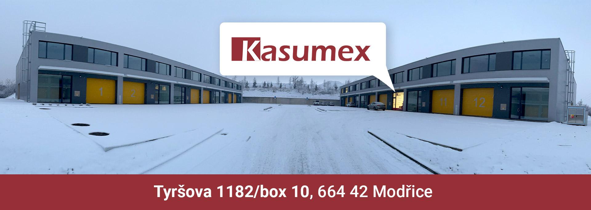 Kasumex - Náhradní díly Modřice - Brno