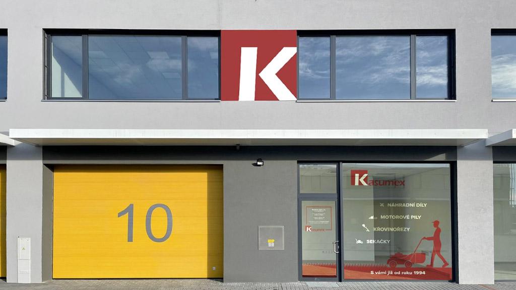 Kasumex - Provozovna - Osobní odběr - Modřice - Brno