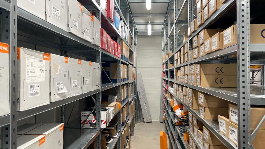 Kasumex - Sklad náhradních dílů na motorové pily, křovinořezy a sekačky