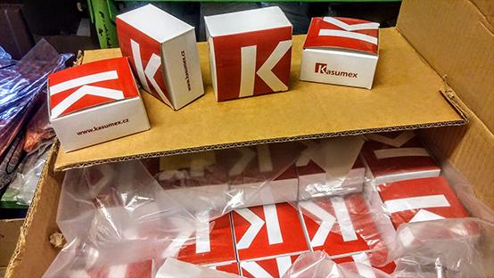Kasumex náhradní díly na sekačky, křovinořezy a pily