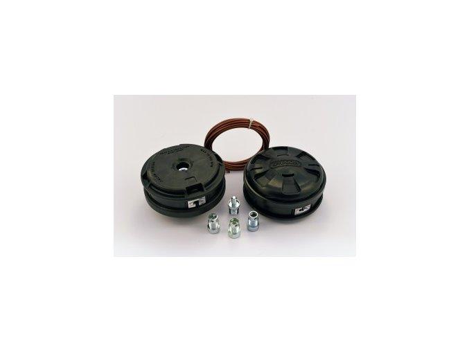 Strunová hlava OREGON - adaptery : M8x1.25LZ, M10x1.25LW, M10x1.0LW, M12x1.5LW (559059)