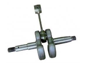 Kliková hřídel Husqvarna 61, 266- 10mm závit (starý typ nahrazuje 501 52 84-02)