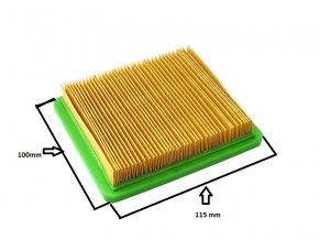 Vzduchový filtr NGP / NAC T475 - nízký - NEVADA (T475 * 110)