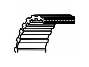 Klinový řemen pro Karsit,Agrojet,Dino Deck 40 / 102cm (1760DS8M20) (021750 / 947 272 211 006)