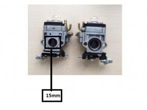 Karburátor pro Hecht 132,143, 145, 146 BTS, 150 (nahrazuje 127001017), CG43, CG520,  BC4125, BC4535, BC410