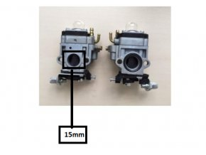 Karburátor pro Hecht 132,143,146 BTS (nahrazuje 127001017), CG43, CG520,  BC4125, BC4535, BC410