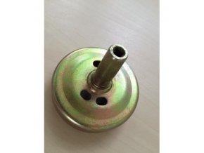Spojkový zvon pro Hecht (nahrazuje originál) ,Alko, Nac, McDilan....čtyřhran 5X5mm