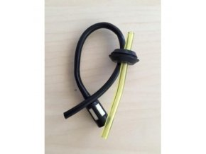 Palivová hadička + filtr na křovinořez Hecht (není originál), Nac, Alko, McDilen