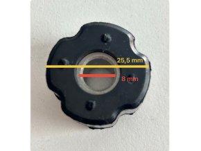 Silenblok(voditko)pro hřídel nahonu 8mm-trubka 28mm