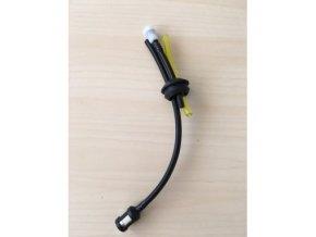 Palivová hadička s filtrem a odvzdušňovacím ventilem
