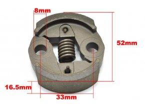 Spojka pro křovinořezy vyrobené v Číně, Hecht (není originál), Al-ko, Einhell...........) CG26,CG260,BC26