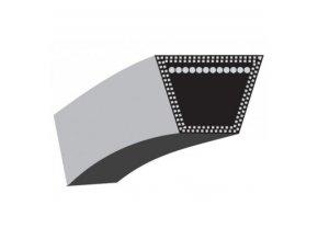 Klinový řemen Alko Silver 520BR/51BR Comfort, Classic 51,4 SP Plus - řemen pohonu (10 x 840 La) (462714)