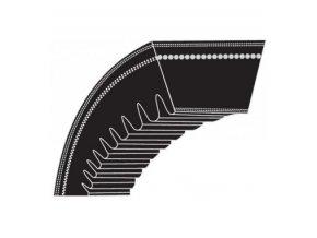 Klinový řemen Alko Silver 520BR/51BR Comfort, Classic 51,4 SP Plus - řemen pojezdu (10 x 840 La) - ozubený (XPZ825)