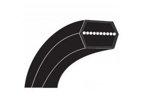 Klinový řemen minitraktora Solo T15-92,5 HD-A, Alko T15-92HD/ T15-102HD - řemen nože (514887)
