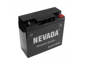 Baterie NEVADA 20Ah / 12V (181x77x167 mm) R +