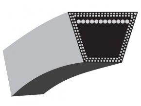Klínový řemen Gutbrod DLX 117, DLX 107 SAL, DLX 96 S.A. - pohon motorů (15,8 x 2311,4) (754-0467/954-0467)