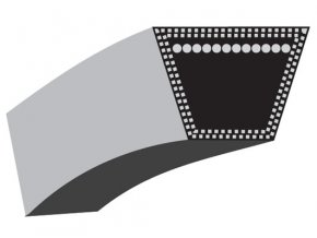 Klinový řemen MTD serie 450 / 500, Gutbrod GLX 92 RA  -92cm - pohon nože - KEVLAR (754-0632 / 754-04075)
