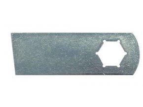 Nůž 9,1 cm Aerator Kynast 15E405 / 35V405, MTD V40 / V40G, Stiga Turbo Silent TSV40E / TSV40B (00.1857.38, 110.000.369, 742-0825A)