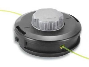 Dvojitá nylonová hlavice průměr 130 mm kompletní s adaptérem