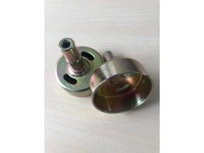 Spojkový zvon pro Hecht (nahrazuje originál) ,Alko, Nac, McDilan....čtyřhran 5X5mm-54 mm