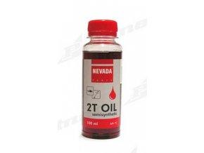 Olej pro dvoutaktní motory 100ml - NEVADA červená