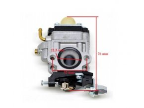 Karburátor pro Hecht 143, Hecht 924 (nahrazuje 127001017) , CG260, AL-KO BC4535, BC4125, BC410 TYP 3, Nac,Stiga,Texas-10 mm