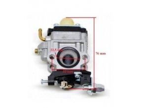 Karburátor pro Hecht 143, Hecht 924 (nahrazuje 127001017) , CG43, CG260, CG430/BC/43, AL-KO BC 4535 BC 4125 BC410 TYP 3, Nac,Stiga,Texas-15 mm