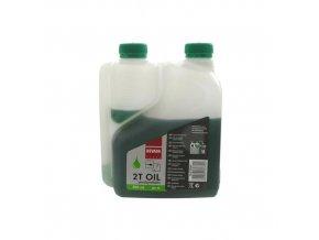 Olej pro motorové pily 0,5 l, dávkovač - NEVADA zelená (10-0151NV)