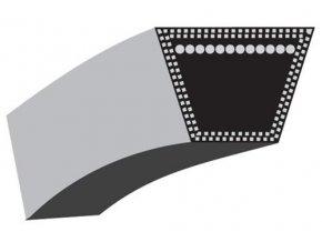 Klínový řemen GTM560S, GRB560SP, OBI B53HME - pohon motoru (12,7 x 864) (2200056 / 754-04176A)