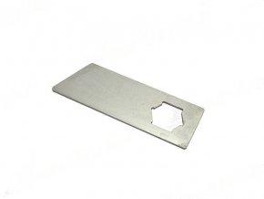 Nůž pro vertikutátor MTD VG40 / VE40 / VG45 - 9,1 cm, šestihran 18 mm
