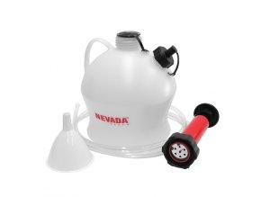 Sada pro odčerpávání oleje a paliva NEVADA - 4L