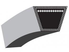 Klinový řemen Castelgarden TC102(stary typ),Stiga Estate 102(stary typ) (13 x 1525 Li) (35061501) KEVLAR