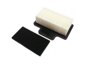 Vzduchový filtr Wacker BS50-2, BS60-2, BS70-2, BS50-2i, BS60-2i, BS70-2i, BS50-4, BS70-4, BS65-V - s předfiltrem nový typ