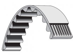 Klinový řemen vertikutátoru Alko Silver Comfort 38P Combi / 38VLB Combi, Combi Care 32VLE Comfort/ 38E Comfort/ 38P - pohon nože (270-5M-15)