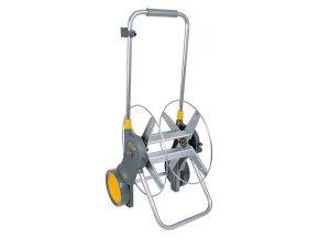 Montovaný kovový hadicový vozík