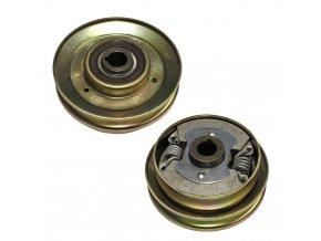 Mechanická odstředivá spojka NORAM Honda GX120, GX140, GX160, GX200 | Loncin G200 F-R | Wacker VP, WP - průměr hřídele. 19,0 mm, průměr řemenice. 125 mm, SPA