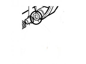 Podložka spojky Oleo-Mac BC430 originál 3818011AR