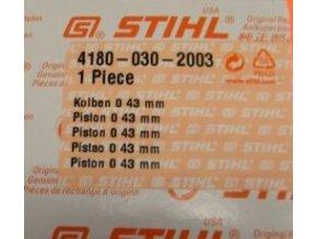 Píst Stihl FS130-43mm originál 41800302003
