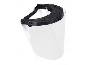 Ochranný štít na obličej TECOMEC - polykarbonátové síto