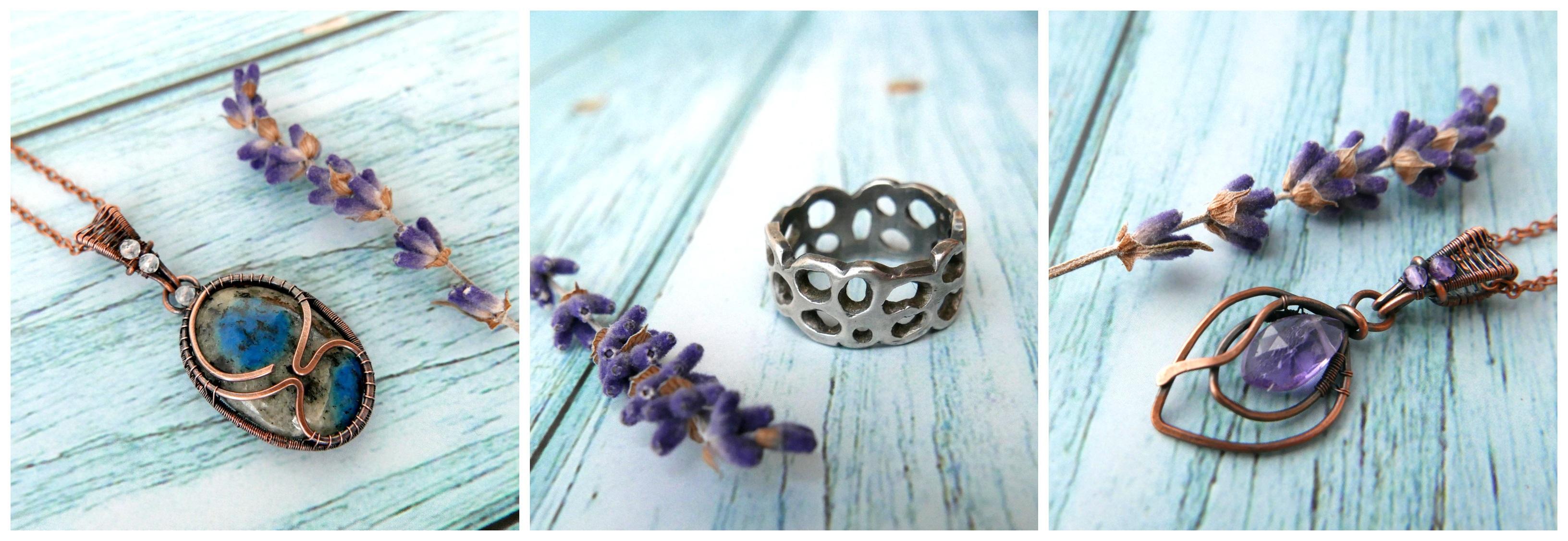 Levandulové šperky