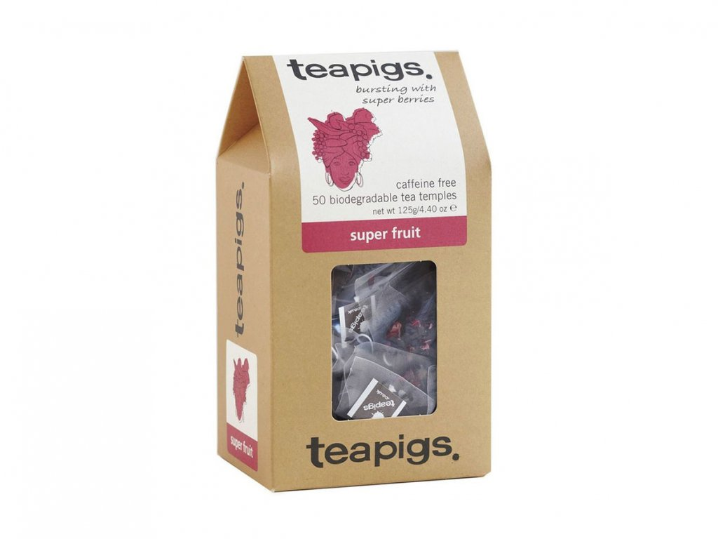 Teapigs Super Fruit čaj - 50 ks