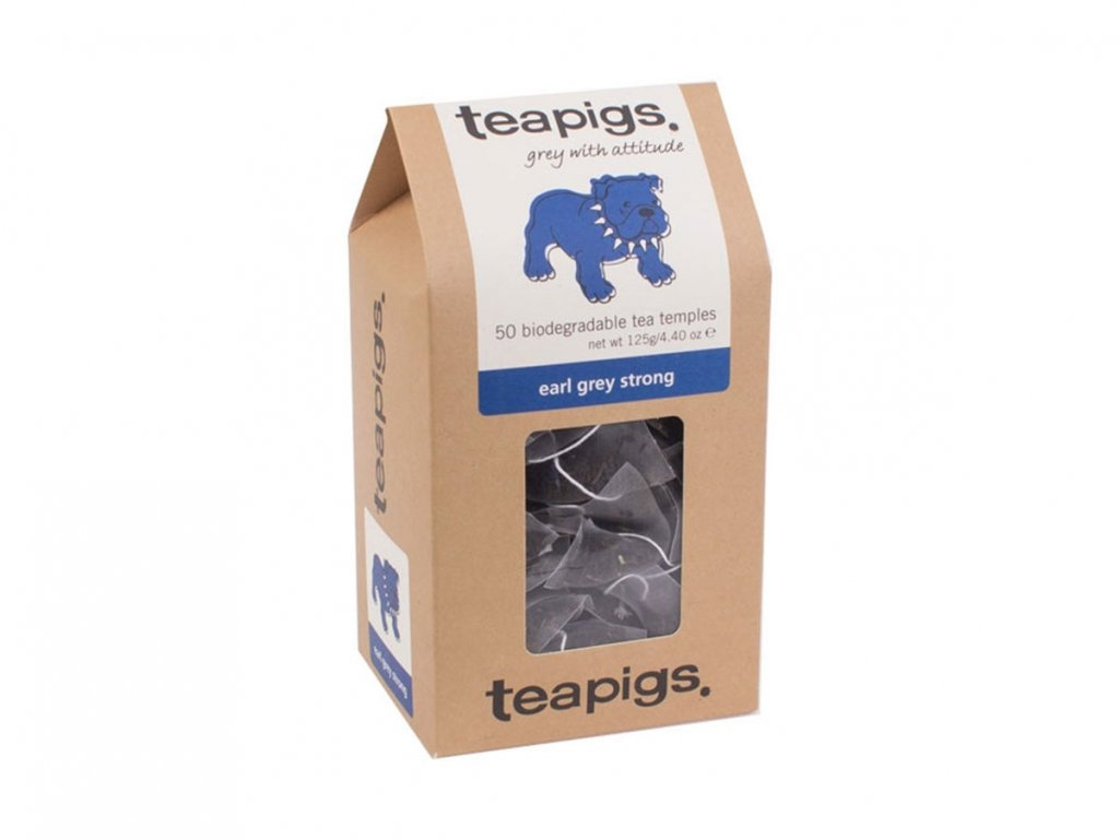 Teapigs Earl Grey Strong čaj - 50 ks