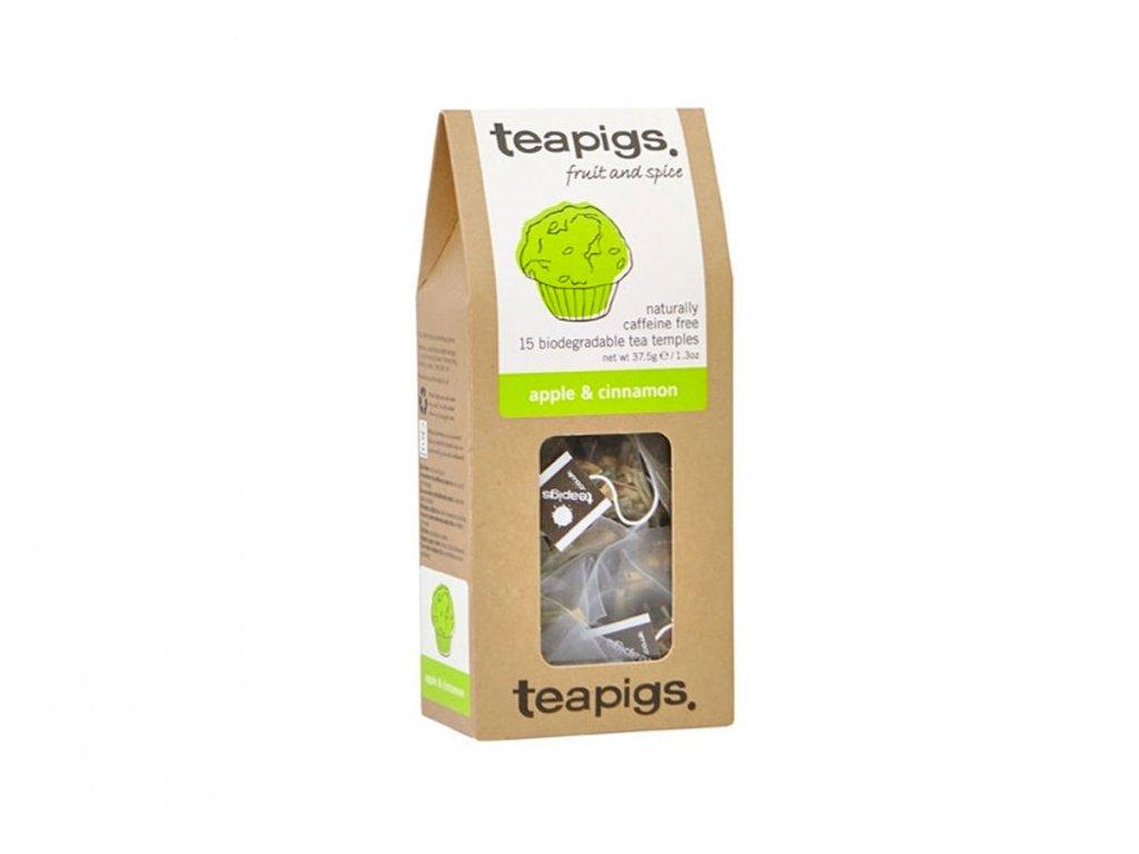 Teapigs čaj Jablko a Skořice - 15 ks