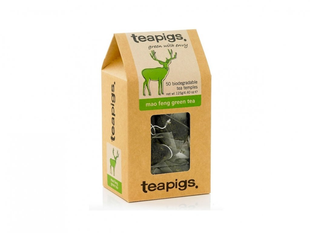 Teapigs Mao Feng zelený čaj - 50 ks