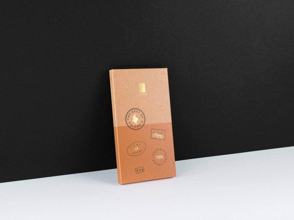 Lyra čokoláda Colombia 70% 90g