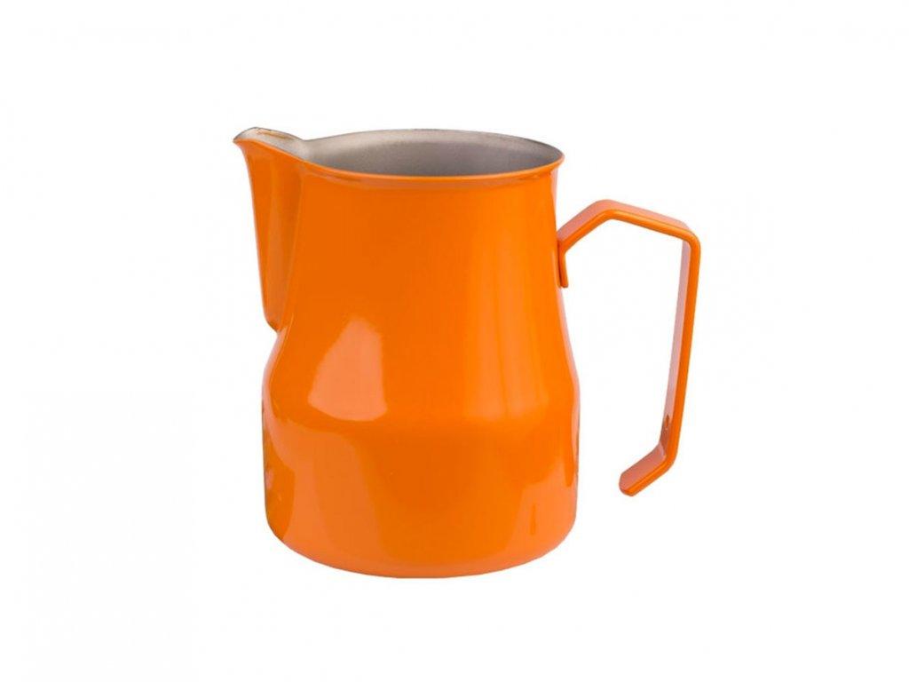 Konvička na šlehání mléka Motta oranžová