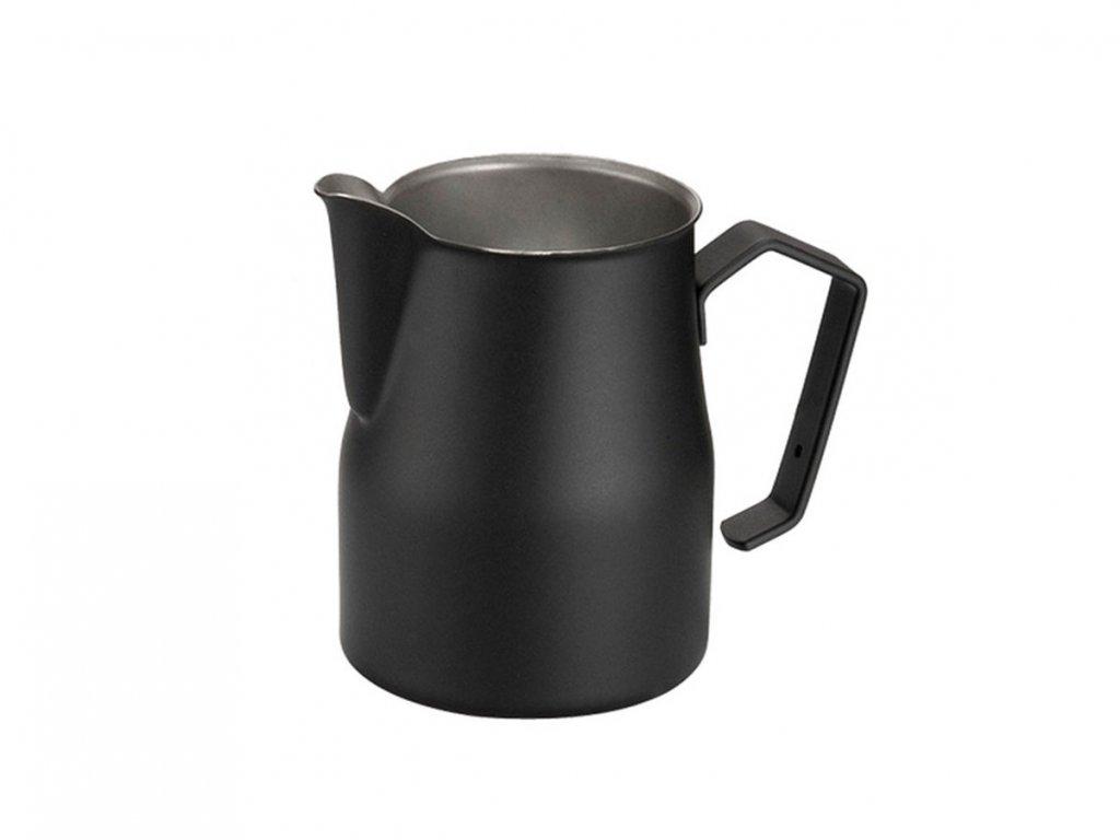 Konvička na šlehání mléka Motta černá