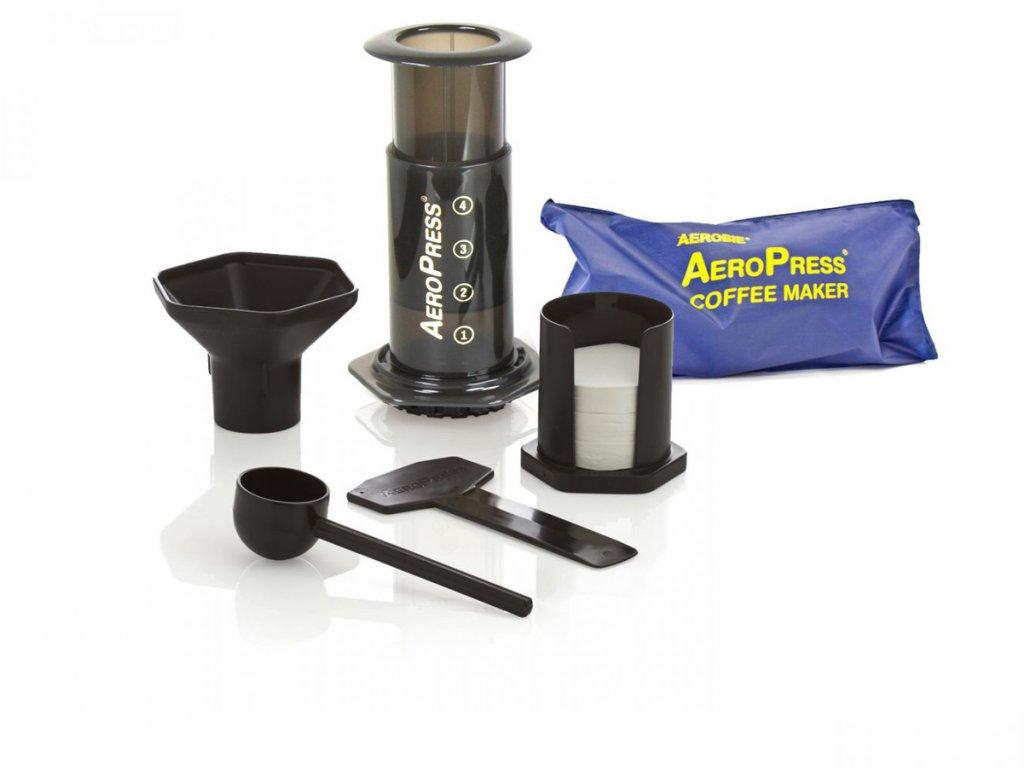 Sada Aeropress Aerobie + filtry + taška