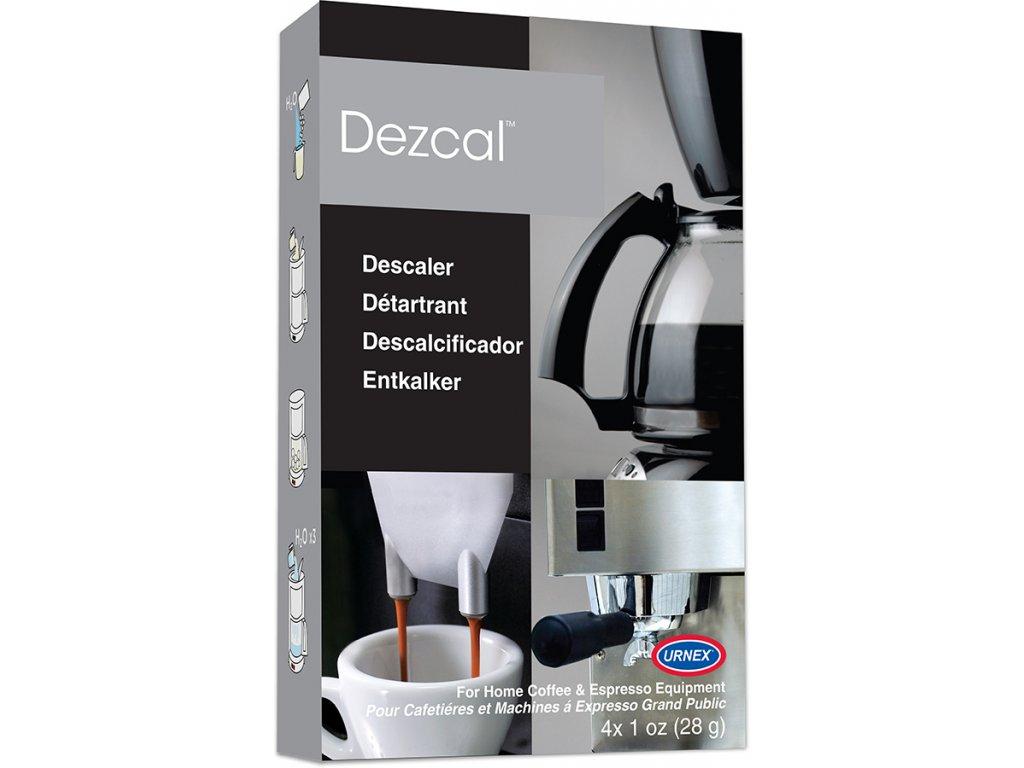 Urnex Dezcal odvápňovač v prášku 4 x 28g